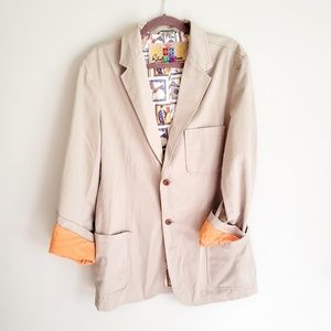 Robert Graham Poppin Graduate Blazer size 40